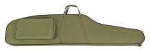 pouzdro DASTA na pušku s optikou - 302G LOV 1, zelené, vlepená molitanová vložka