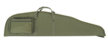 pouzdro DASTA na pušku s optikou - 330G LOV 6, zelené, všitá molitanová vložka