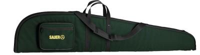 pouzdro Sauer nylonové zelené s kapsou na zip