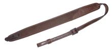 řemen NIGGELOH - lodenový, SV zámek, hnědý (1411 00001)