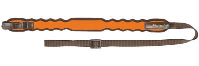 řemen NIGGELOH - Vlna, nylon, SV zámek, oranžový (0111 00038)