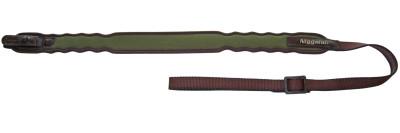 řemen NIGGELOH - Vlna, nylon, SV zámek, zelený (0111 00036)