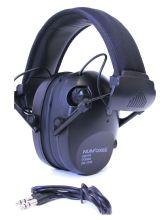 elektronická sluchátka NUMAXES - CAS1034, černá
