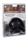 elektronická sluchátka Numaxes -černá