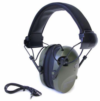 elektronická sluchátka NUMAXES - CAS1034, zelená