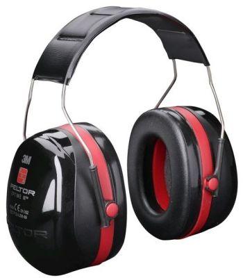 sluchátka PELTOR - H540A Optime III, červená