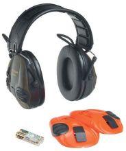 sluchátka PELTOR - Sporttac, zelená/oranžová