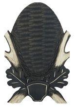 štítek/ podložka PR 06 - srnčí pod celou lebku, rozměr 15x25 cm