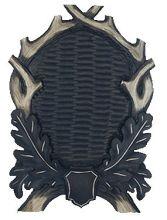 štítek/ podložka PR 17 - jelení na seříznutou lebku, rozměr 28x40 cm