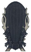 štítek/ podložka PR 22 - jelení pod celou lebku, 8mi-listé provedení, rozměr 32x58 cm