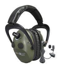 střelecká a zesilující sluchátka SPYPOINT - 10x AMY EEM4-25 (zelená)