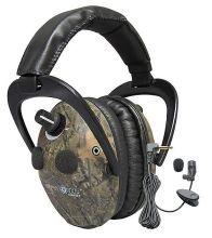 střelecká a zesilující sluchátka SPYPOINT - 10x AMY EEM4-25camo (kamufláž)
