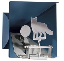 terč DIANA - 1x liška s lapačem, (Pellet trap Fox) max.7,5J