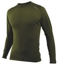 vlněné triko Devold Expedition s dlouhým rukávem, zelené