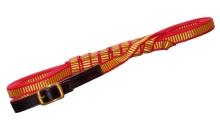 vodítko NIGGELOH - Trail, nylon, 20mm-12m, červeno-žluté (1617 00001)