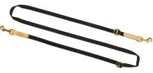 vodítko NIGGELOH - Variabel pro psy, 15mm, nylon, černé (1517 00013)