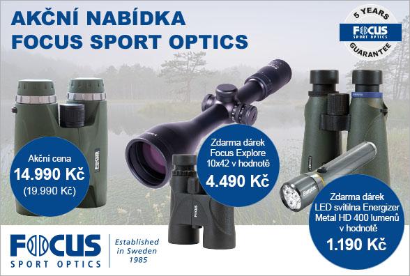 Skvělé puškohledy adalekohledy vpoměru cena/výkon od švédského výrobce FOCUS